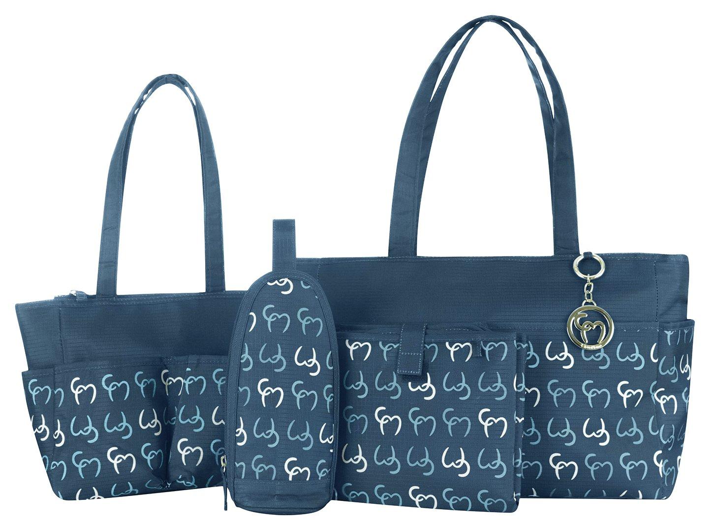 Clevamama Nicole Tote Bag - Navy.