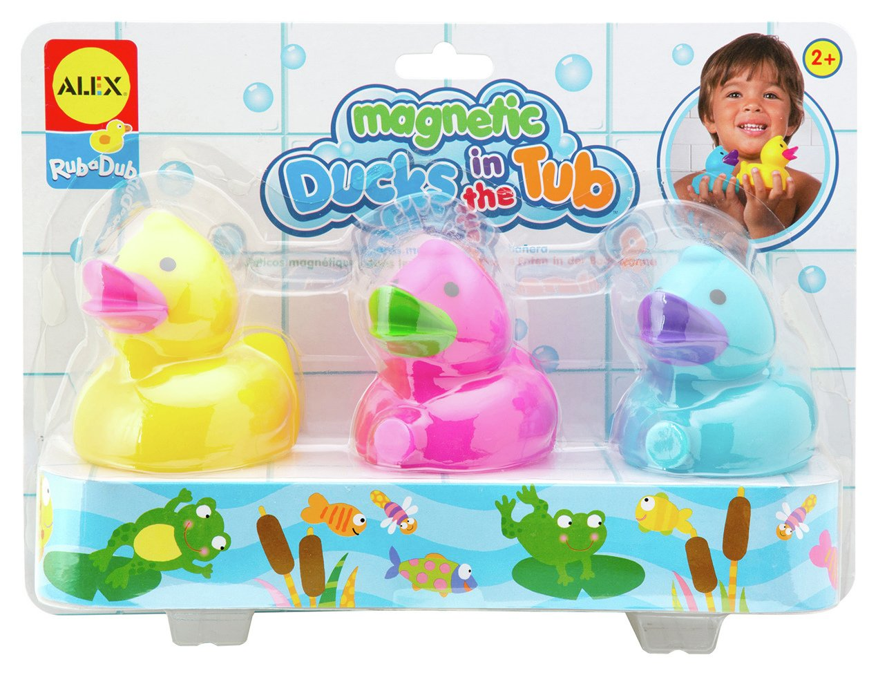 Image of Alex Toys Magnetic Ducks in the Tub.
