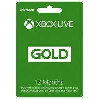 Xbox Live Gold Membership - 12 Months