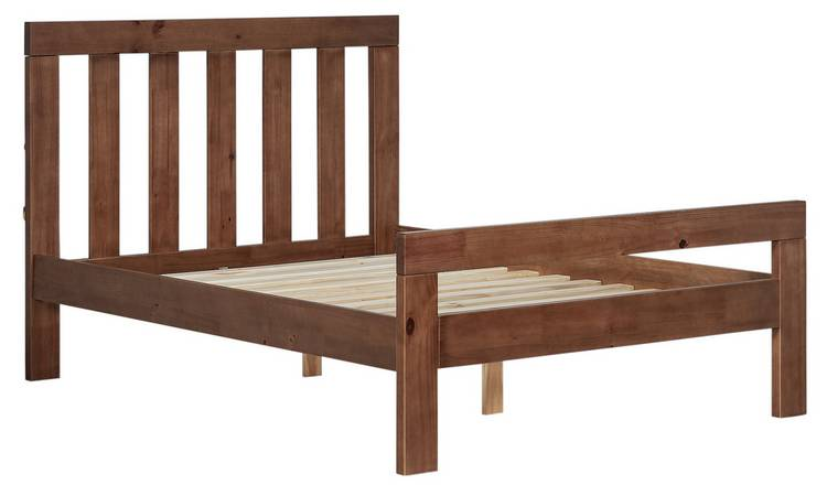 pick up a6a71 c3731 Buy Argos Home Chile Kingsize Bed Frame - Dark Stain | Bed frames | Argos