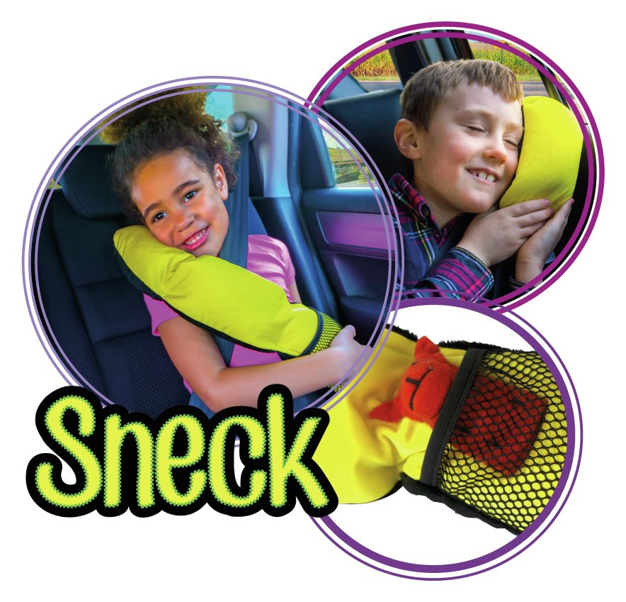 Image of BubbleBum Sneck - Travel Pillow