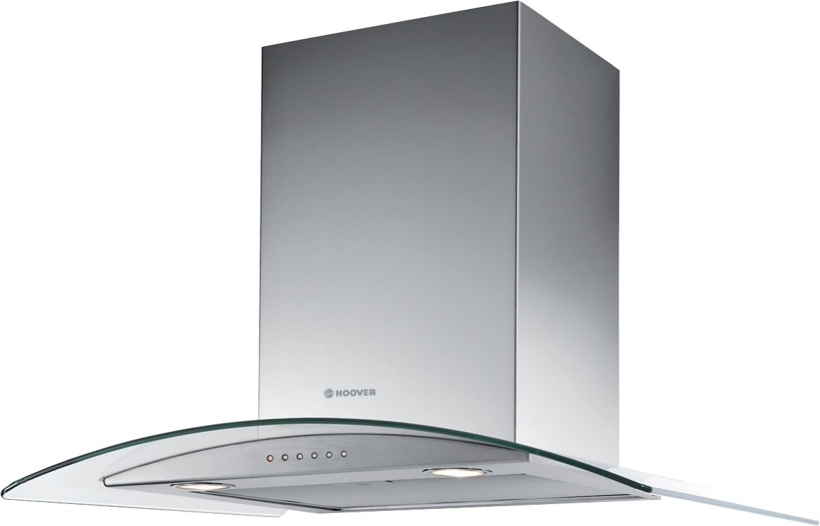Hoover - HGM61X Cooker Hood- Stainless Steel and Glass