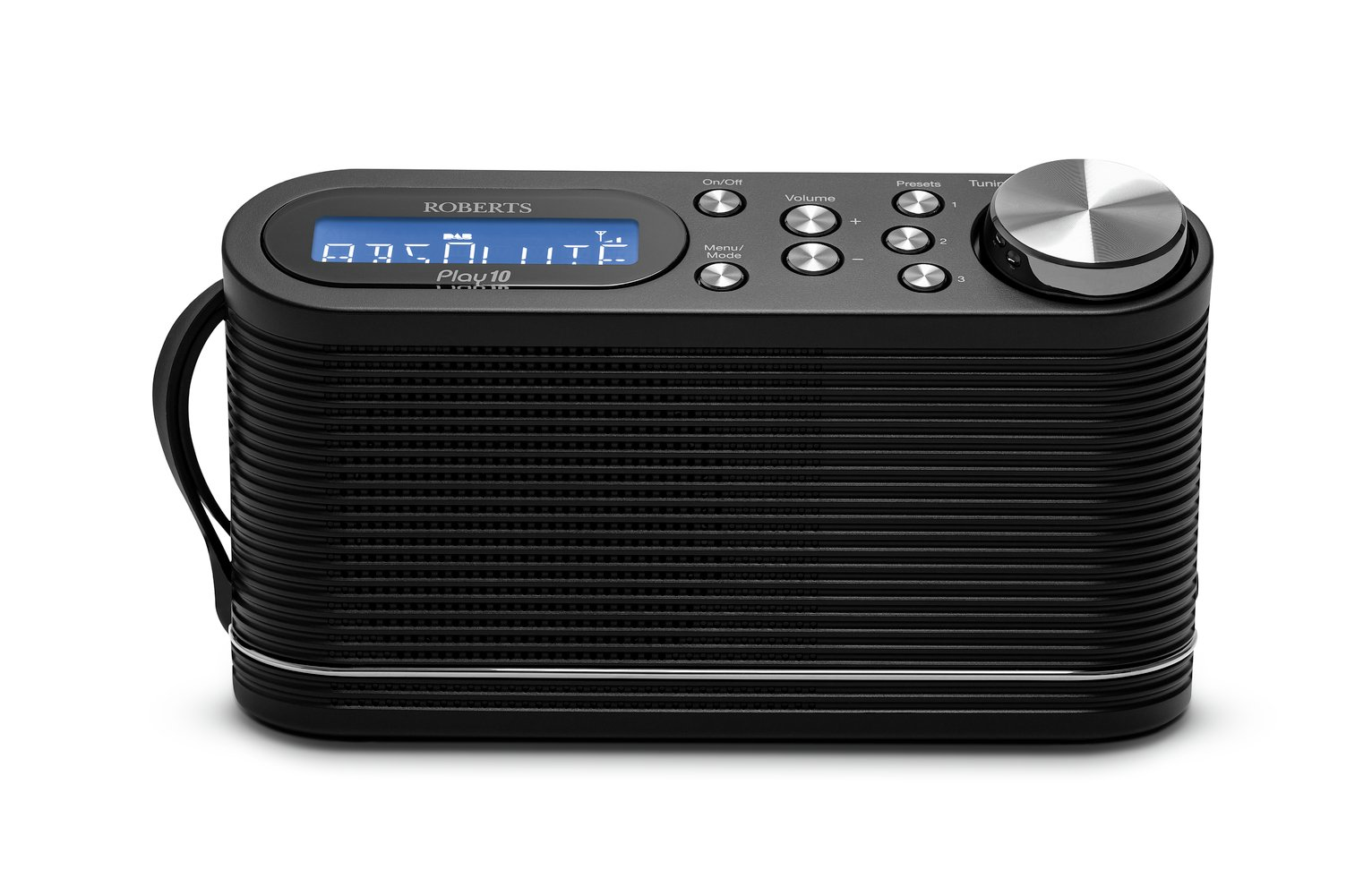 Roberts Play 10 DAB Radio - Black