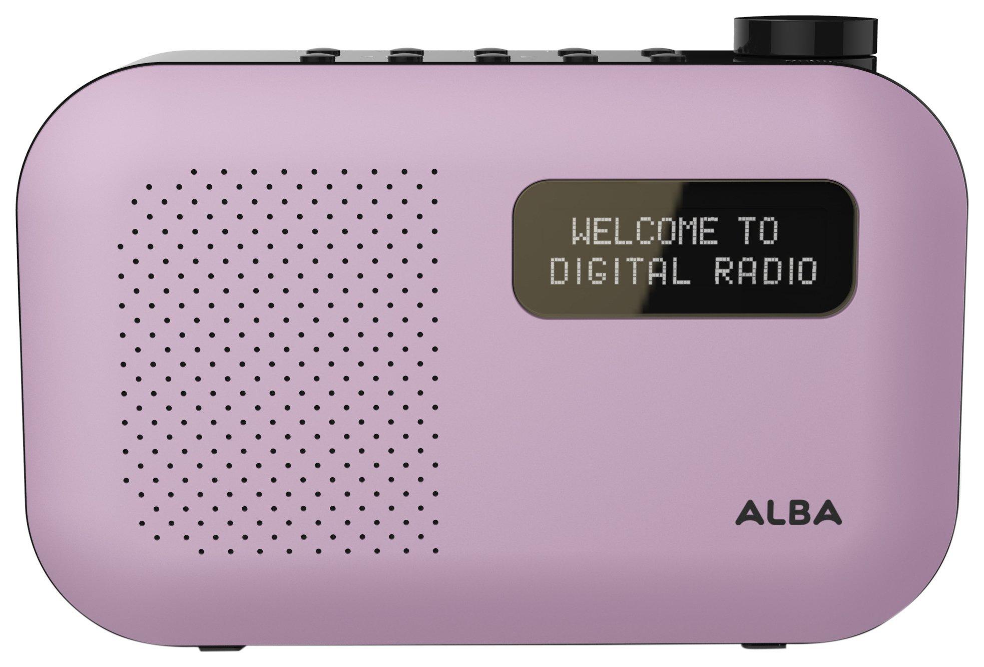 Alba Alba - Mono DAB Radio - Purple