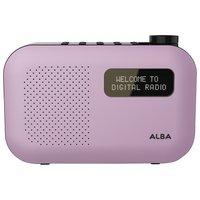 Alba - Mono DAB Radio - Purple
