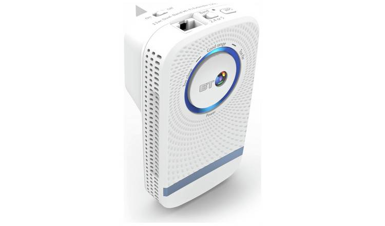 Buy BT 11AC Dual Band N1200 Wi-Fi Range Extender | Wi-Fi boosters | Argos