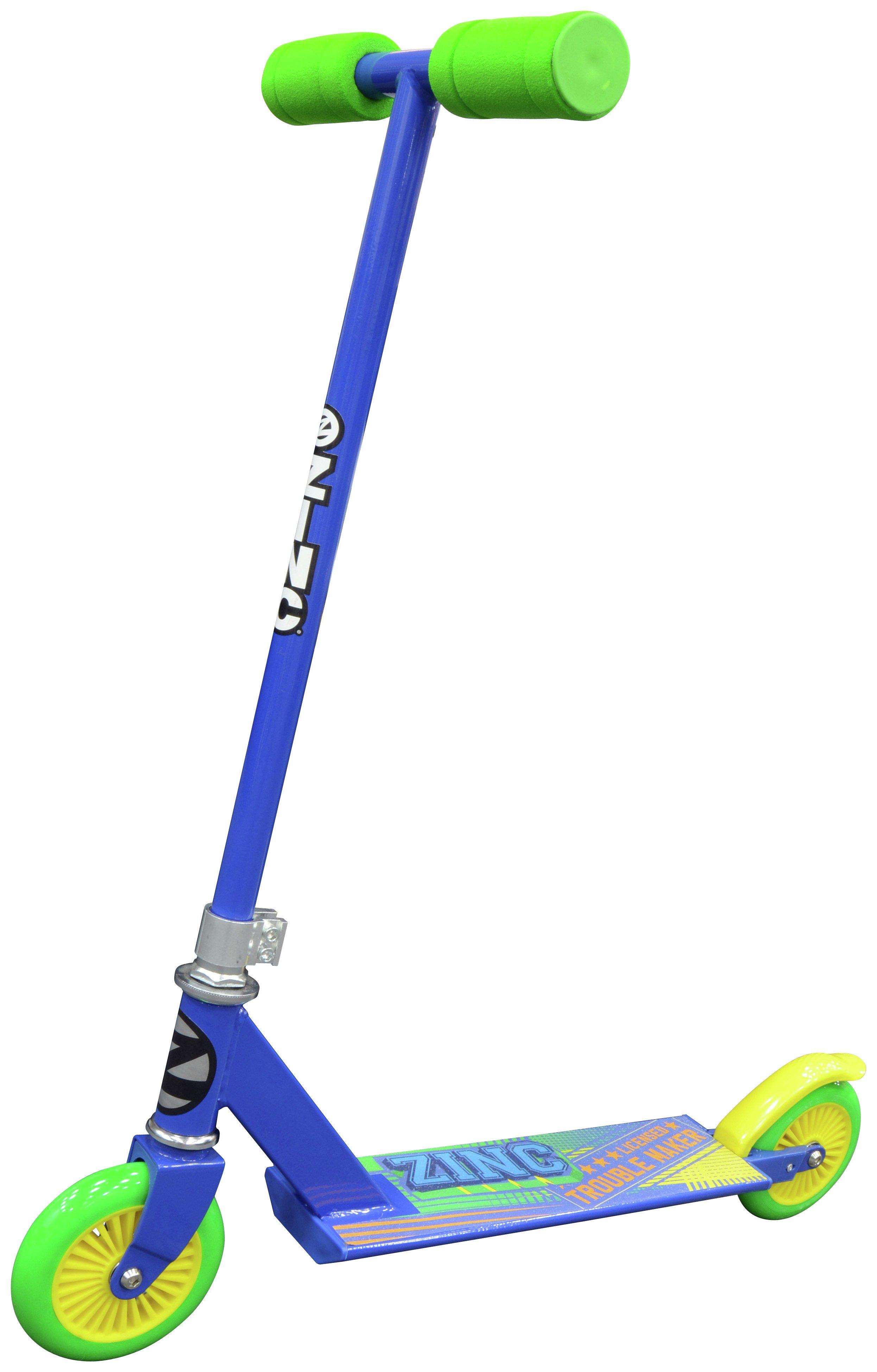 Zinc Non Folding Inline Scooter