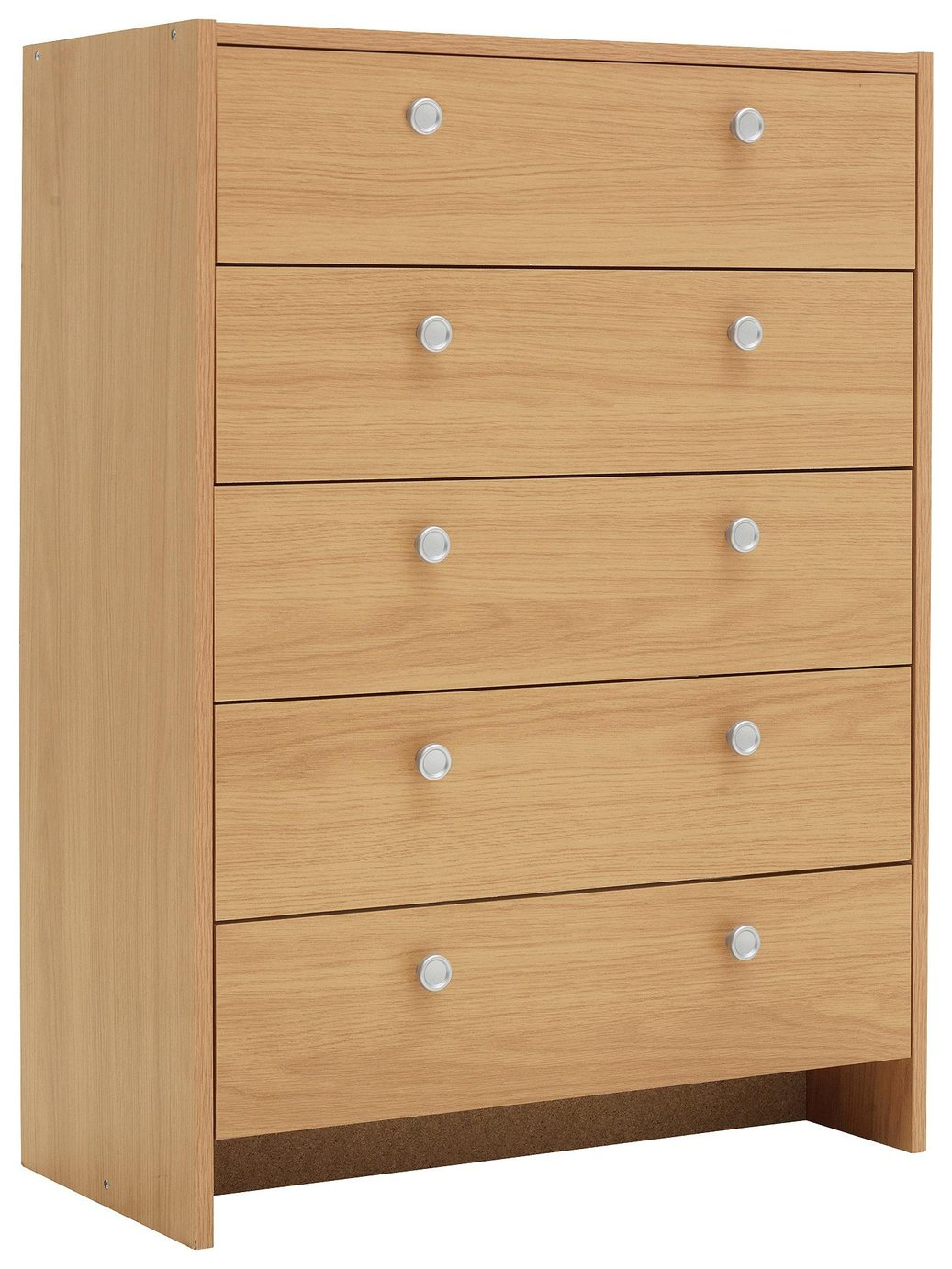 Argos Home Seville 5 Drawer Chest Beech Effect