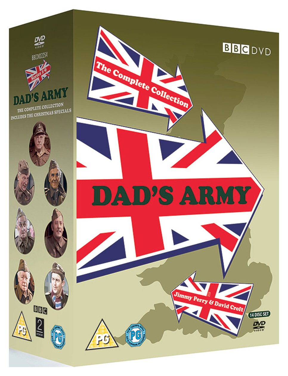 Dad's Army DVD.