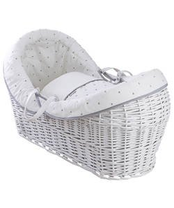 Moses baskets, stands and mattresses