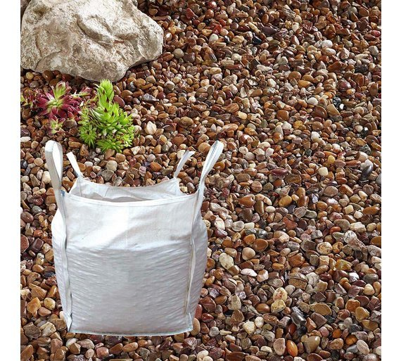 Decorative stones, cobbles, gravel and chippings
