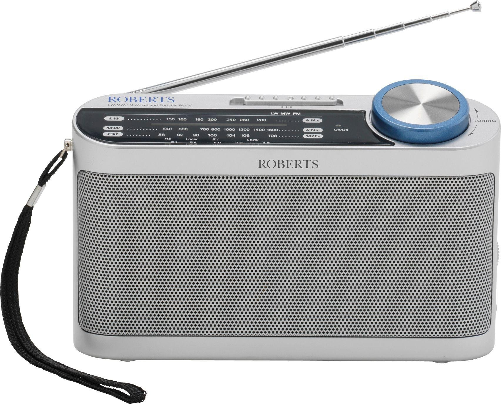 Roberts - Portable Radio - Silver