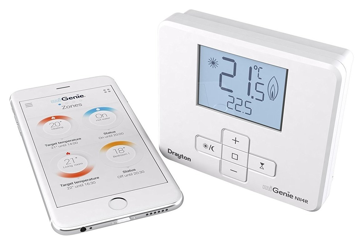 Drayton Drayton miGenie Smart Thermostat (Heating & Hot Water).