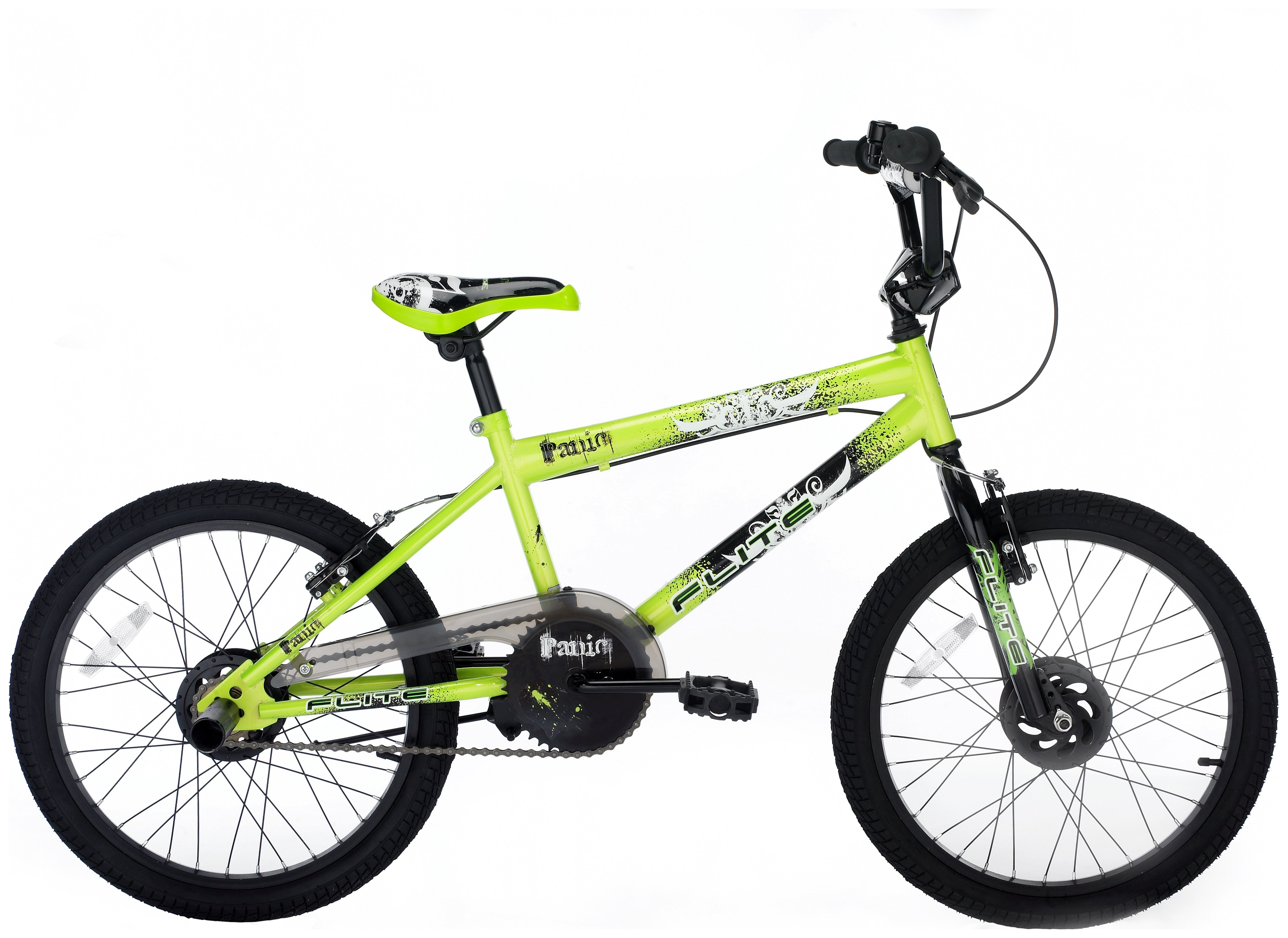 'Flite Panic 20 Inch Bmx Bike - Green