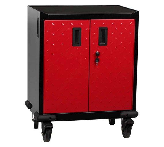 buy hilka mobile garage cabinet at your. Black Bedroom Furniture Sets. Home Design Ideas
