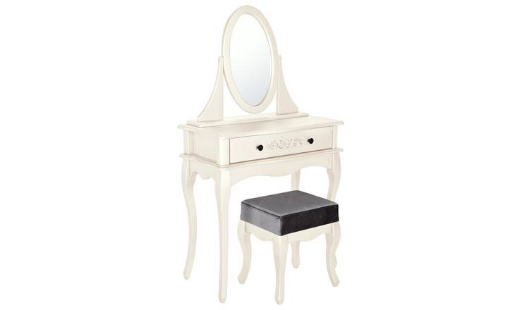 Pleasant Buy Argos Home Sophia Dressing Table Stool Mirror Soft White Dressing Tables Argos Squirreltailoven Fun Painted Chair Ideas Images Squirreltailovenorg