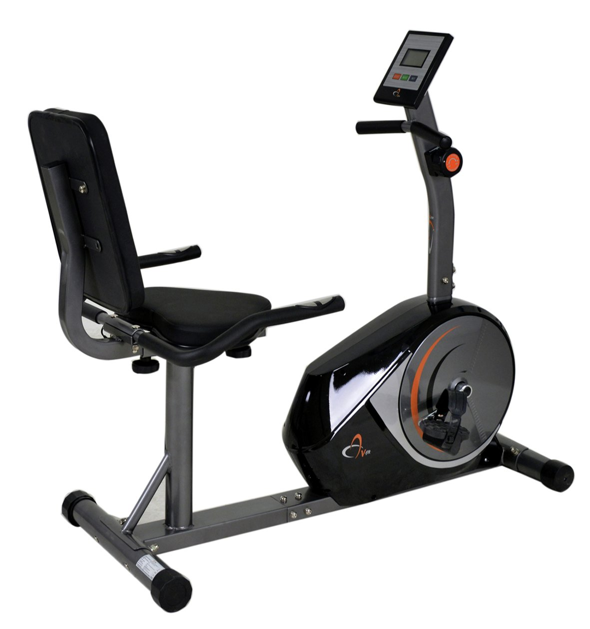 V Fit Cy090 Manual Magnetic Recumbent Exercise Bike