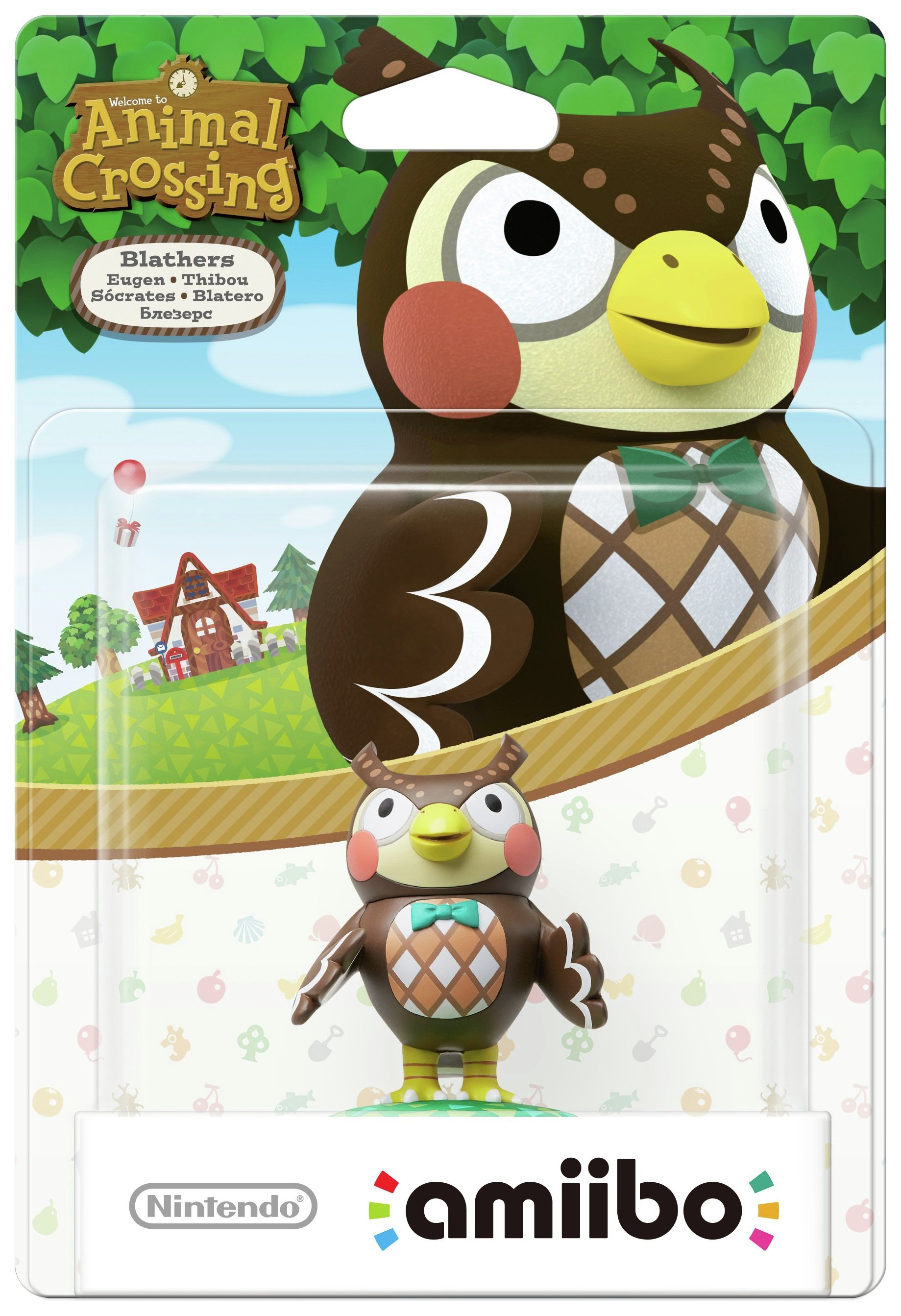 amiibo Animal Crossing Figure - Blathers