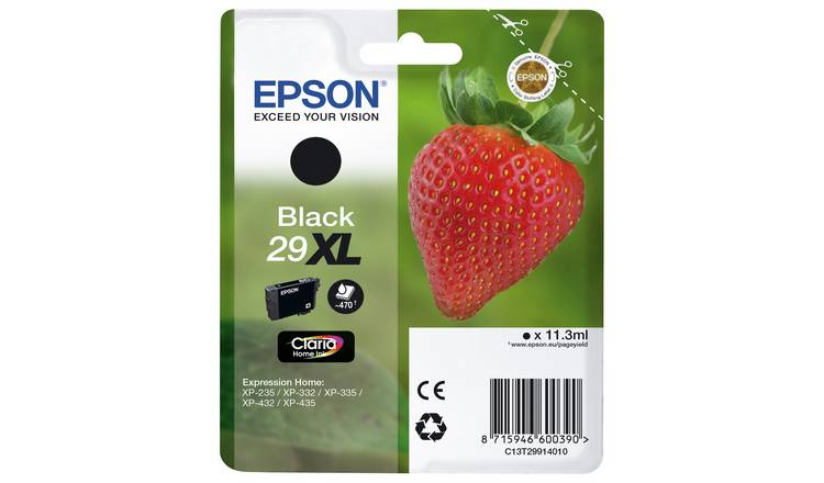 Epson 29XL Strawberry Ink Cartridge - Black