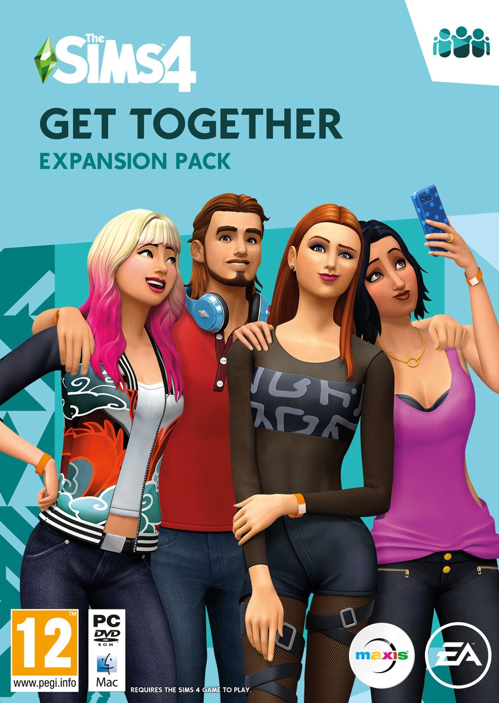 The Sims The Sims 4 - Get Together Expansion Pack PC
