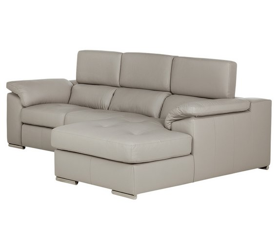 What Does Right Hand Corner Sofa Mean: Buy Hygena Valencia Leather Right Hand Corner Sofa