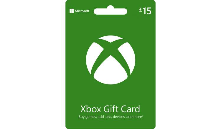 Buy Xbox Live 15 GBP Gift Card | Gift cards | Argos