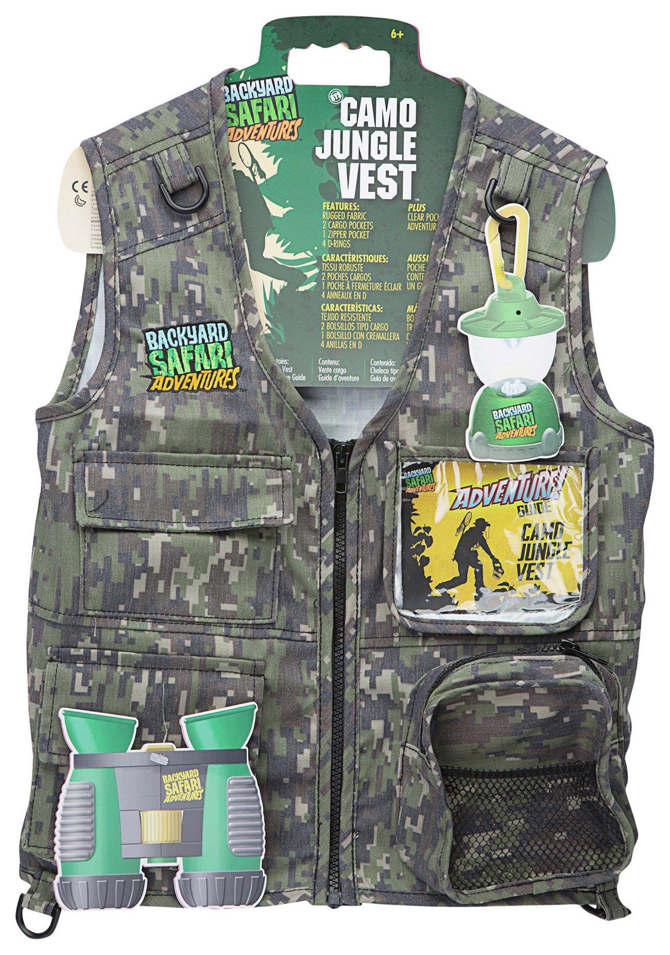 Image of Alex Toys Backyard Safari Jungle Camo Vest.