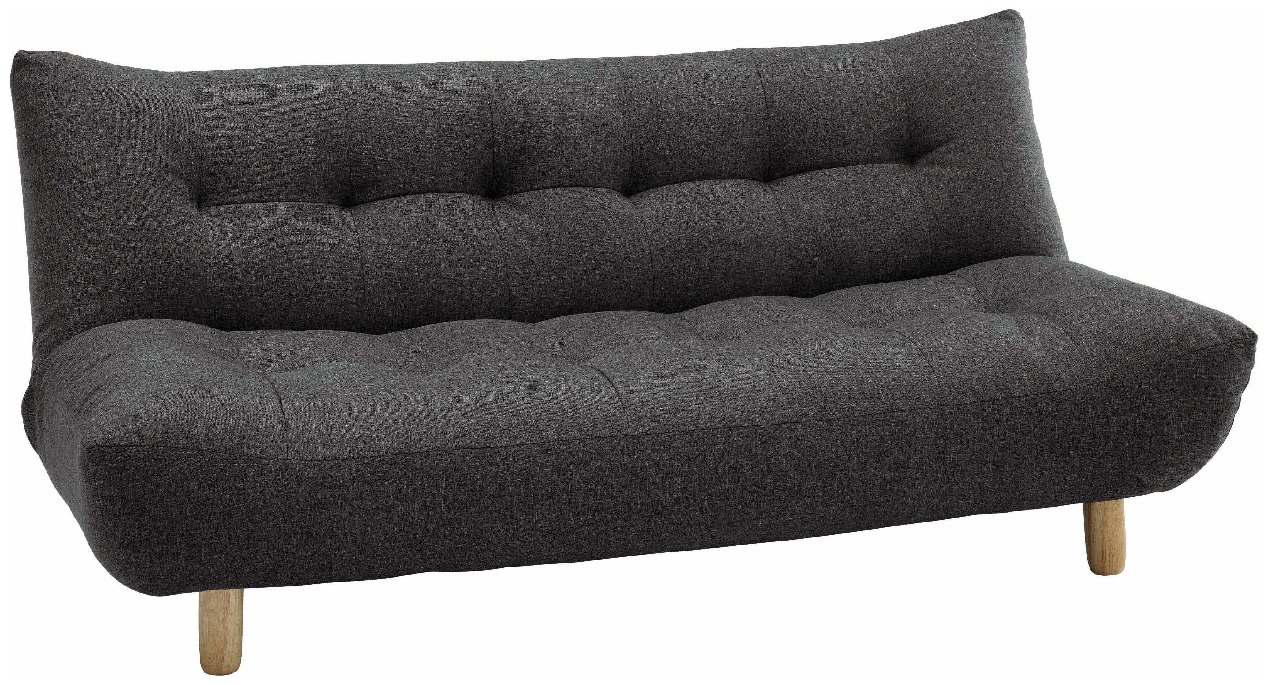 Habitat Sofas buy habitat kota 2 seater fabric sofa bed charcoal at argos co uk