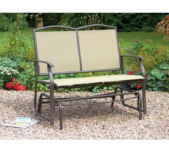 Buy Greenhurst 2 Seater Glider Bench At Argos Co Uk Your