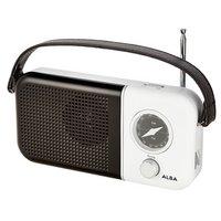 Alba - Portable FM Radio - Black