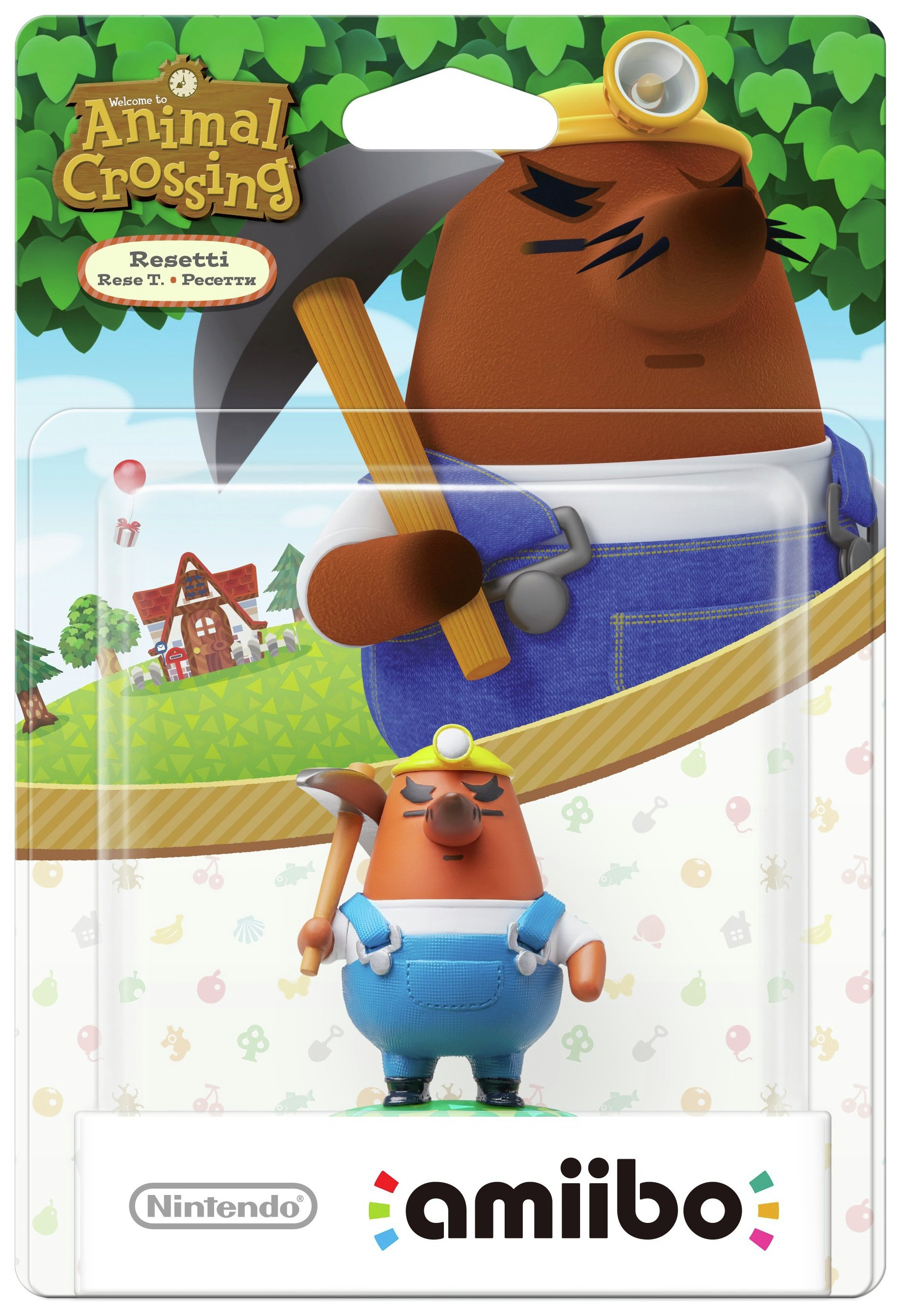 amiibo Animal Crossing Figure - Mr Resetti