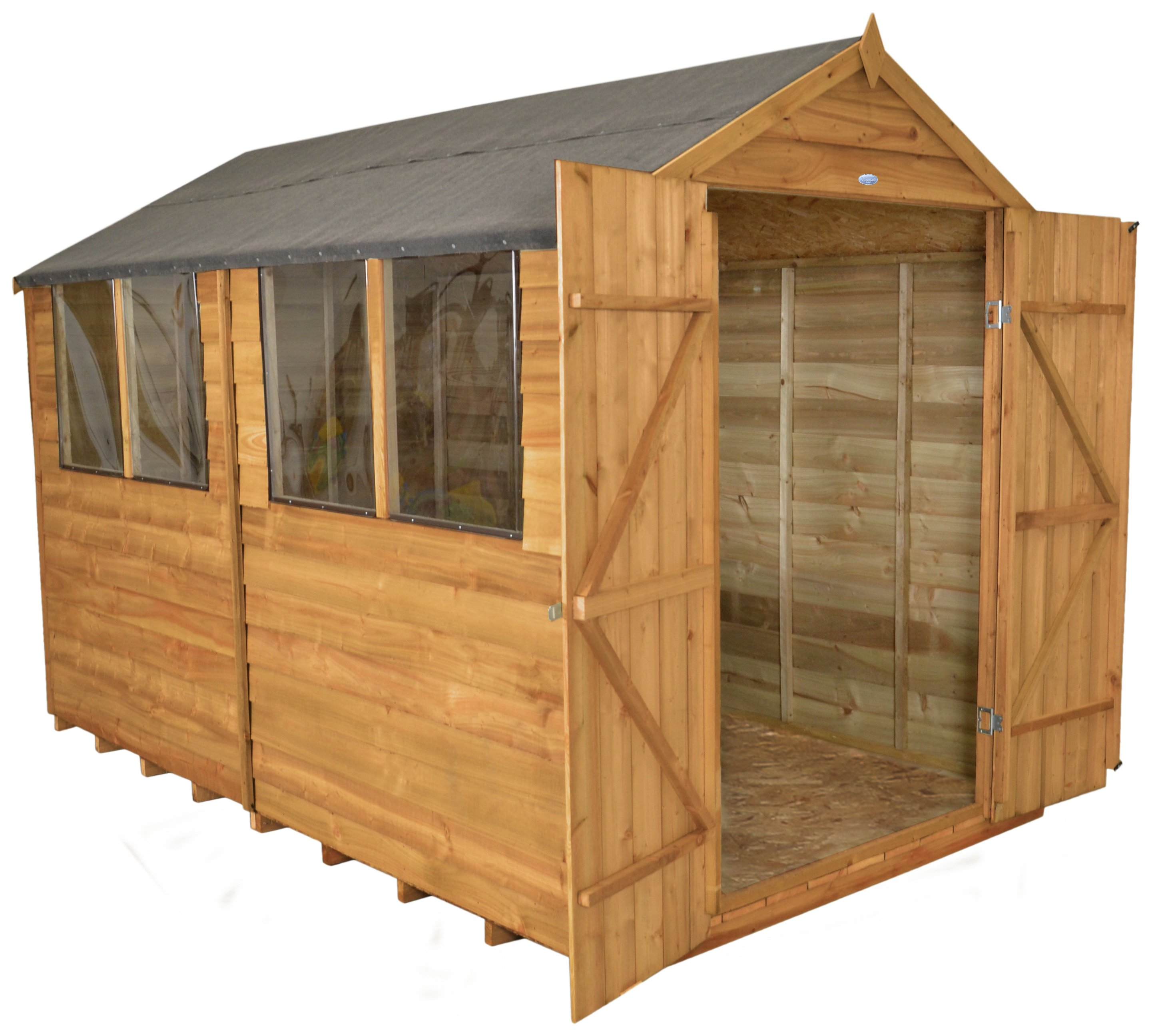 forest-overlap-wooden-double-door-shed-8-x-10ft