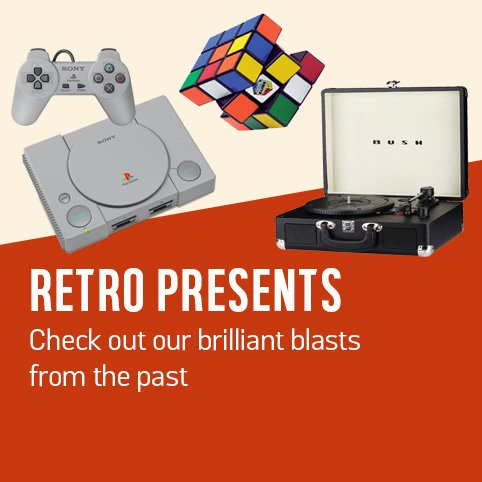 Retro presents. Check out these blasts from the past.