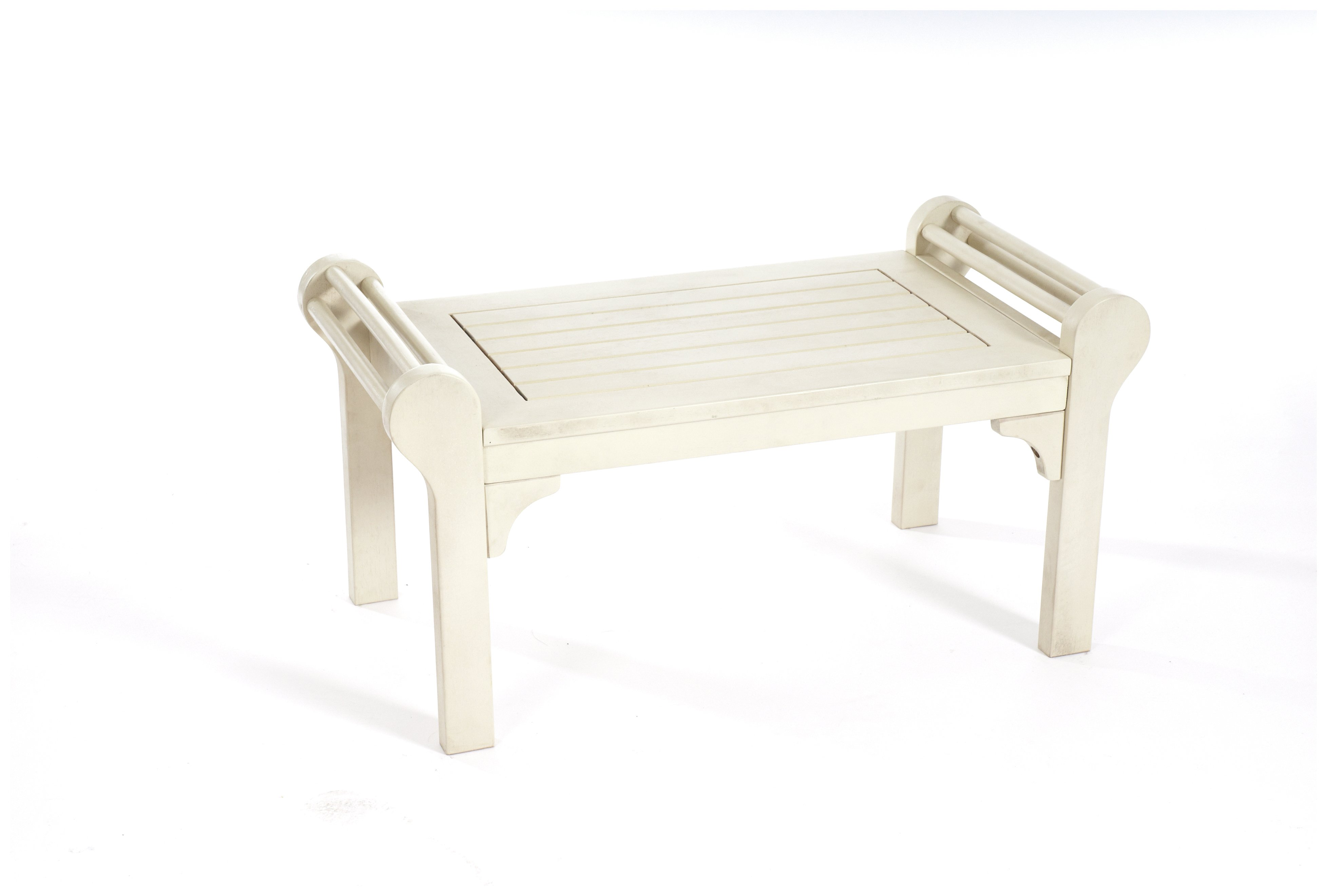 Greenhurst Lutyens Coffee Table - White Oil. lowest price