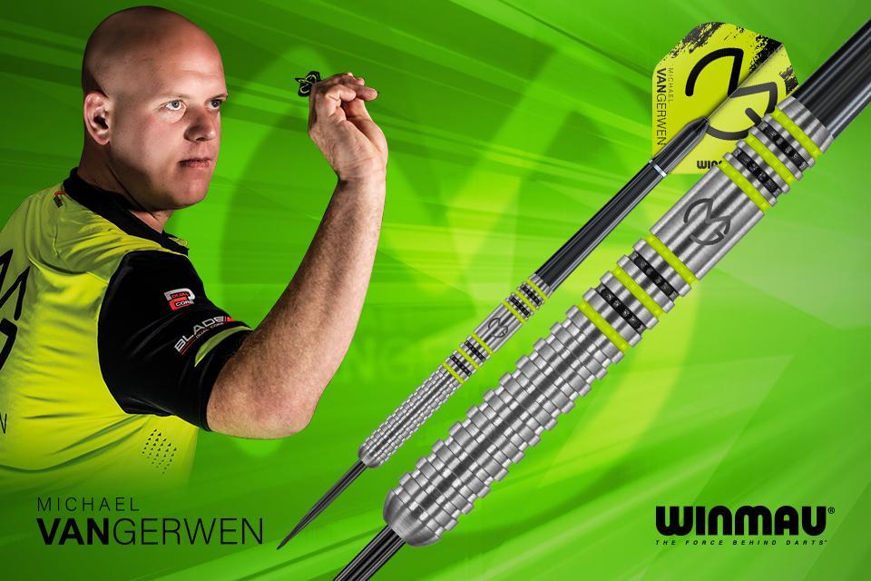 Win a Michael van Gerwen Winmau darts bundle!