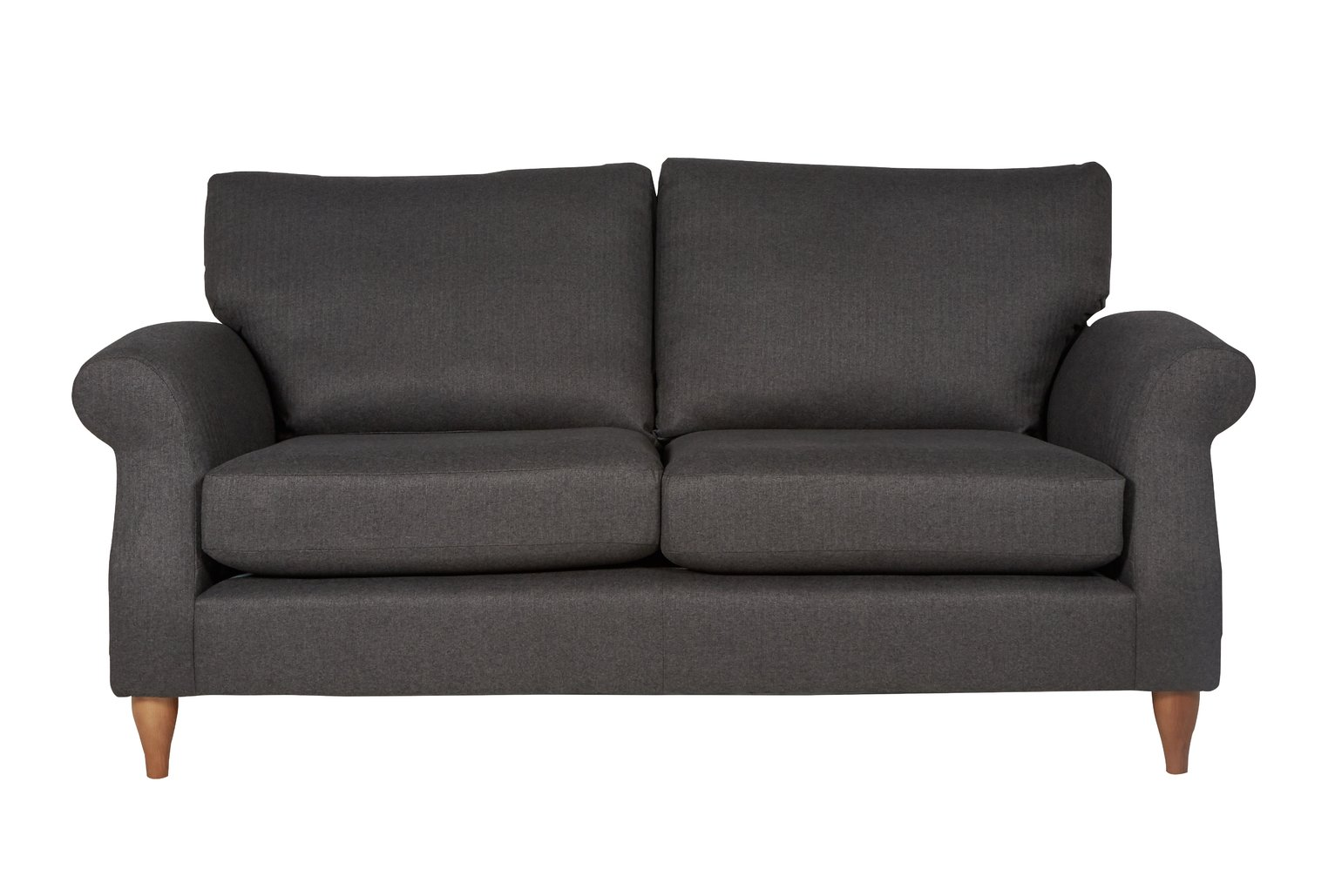Argos Home Bude 3 Seater Fabric Sofa - Charcoal