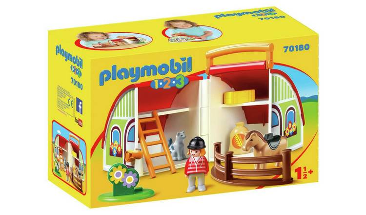 Playmobil 70180 1/2/3 My Take Along Farm Playset