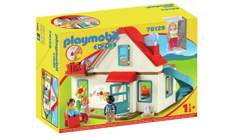 Playmobil 70129 1/2/3 Family Home Playset