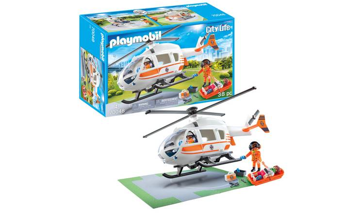 Playmobil 70048 City Life Rescue Helicopter