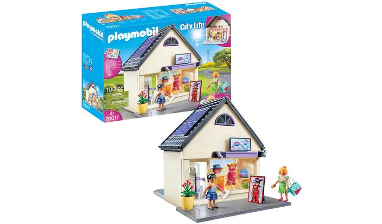 Playmobil 70017 City Life My Fashion Boutique Playset