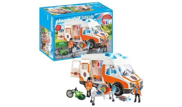 Playmobil 70049 Ambulance with Lights and Sound Playset