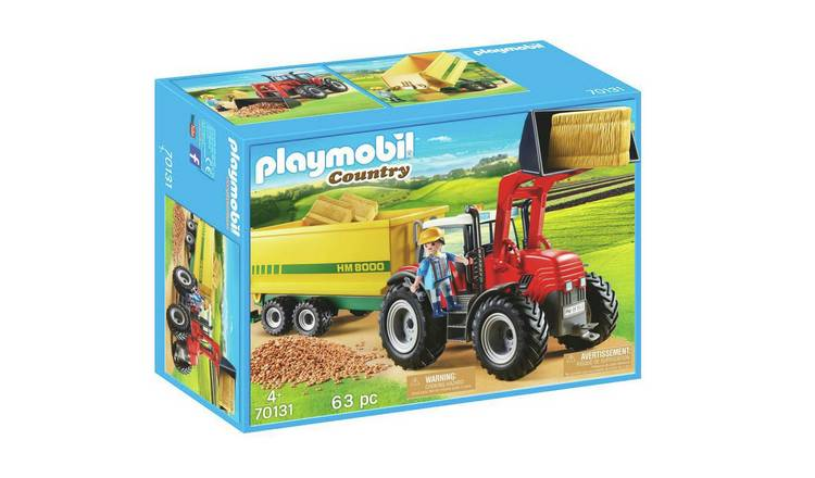 Playmobil 70131 Tractor and Feed Trailer
