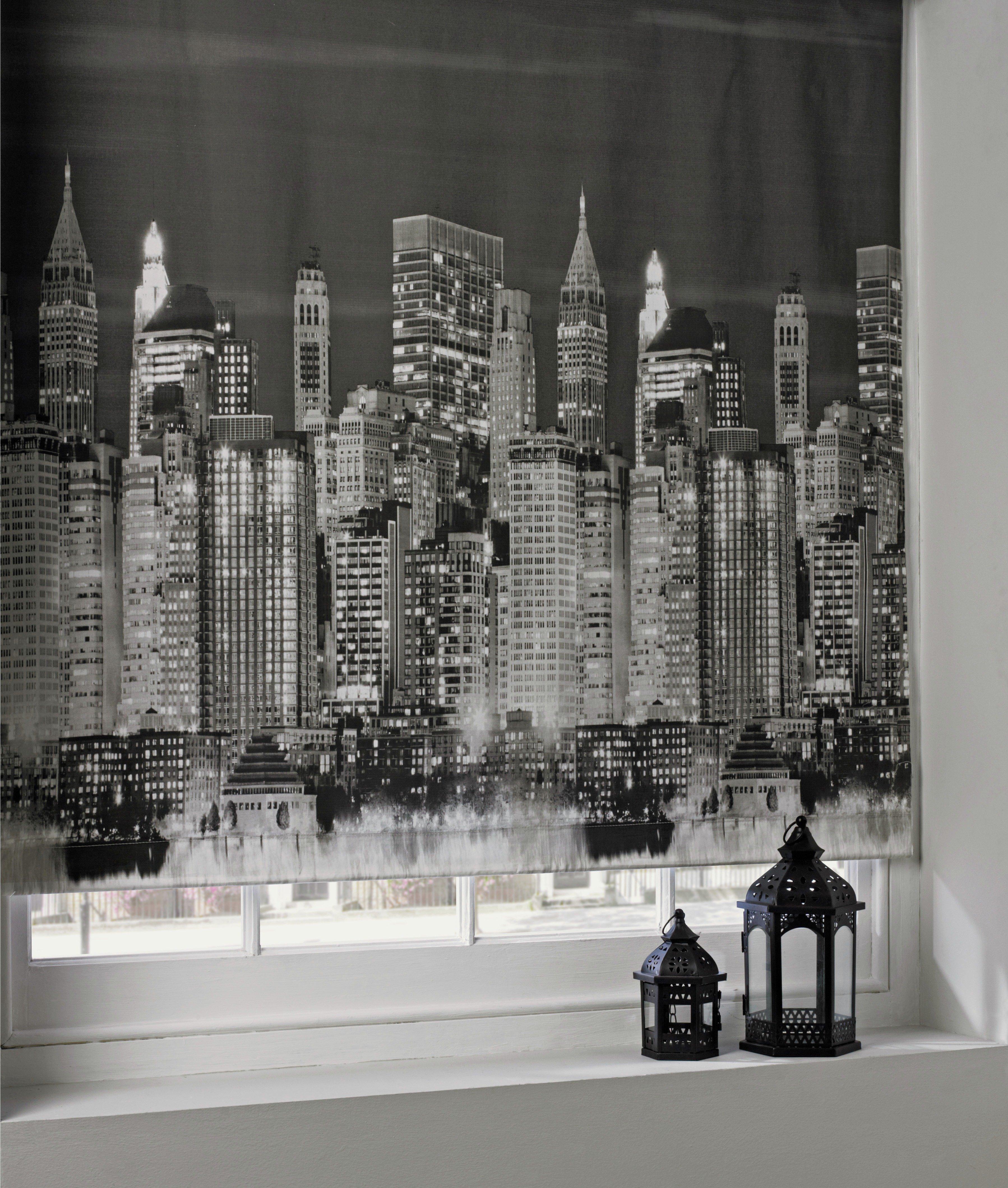Image of Roller Blind - 2ft - New York Skyline