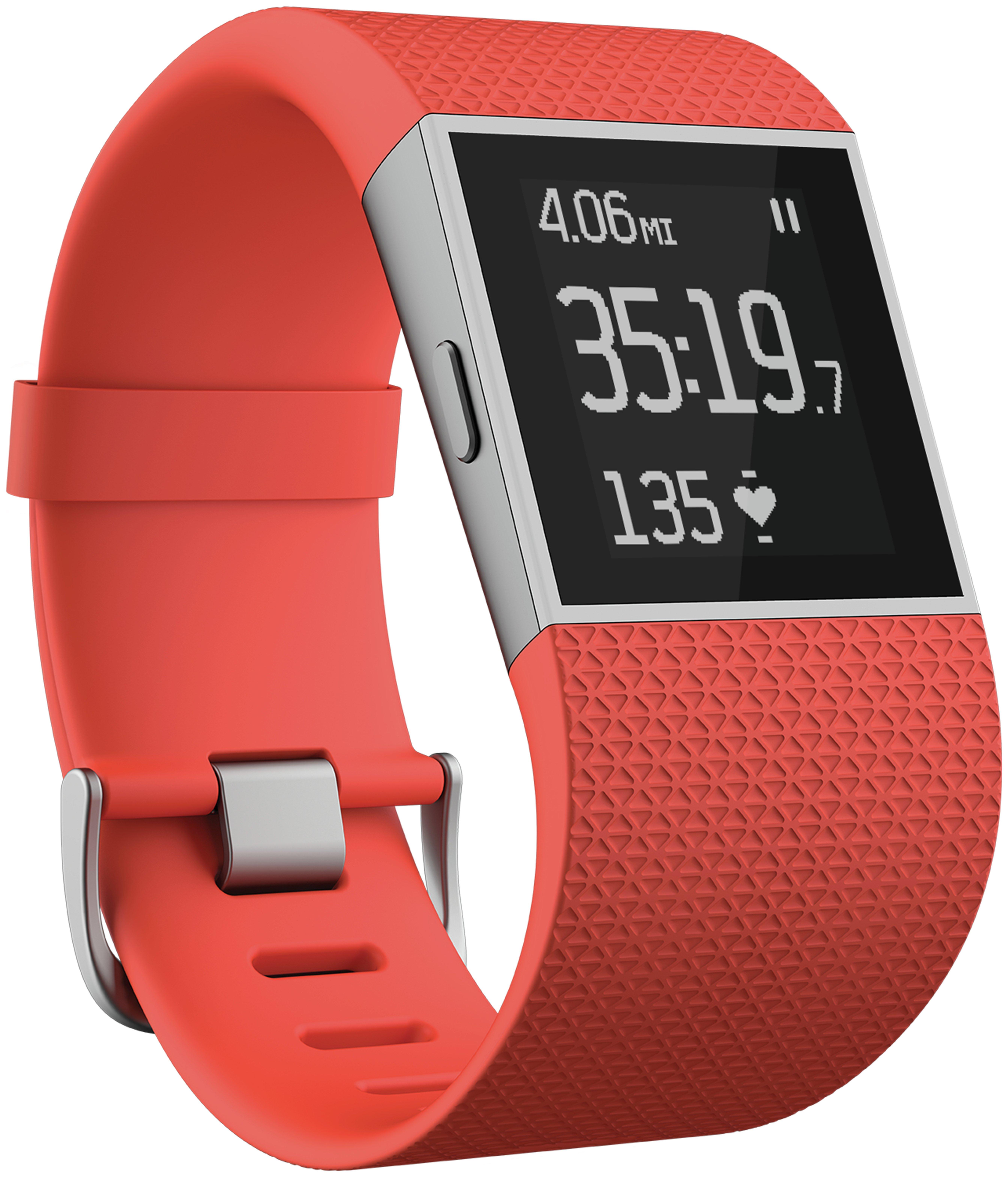 Fitbit Fitbit Surge Tangerine - Large