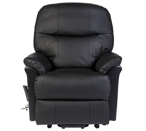 Buy Lars Riser Recliner Leather Chair W Single Motor