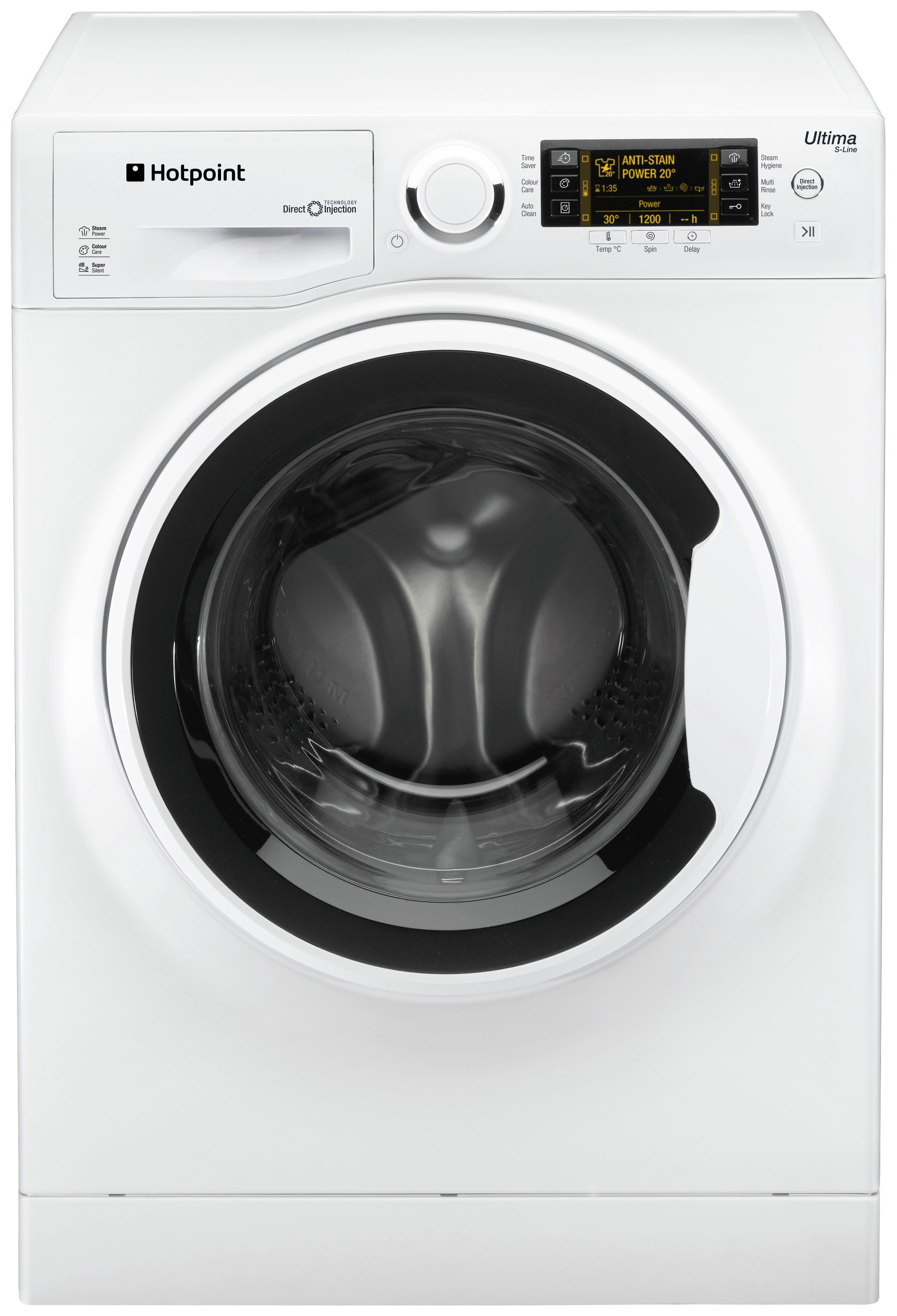 Image of Hotpoint RPD8457J 8KG 1400 Spin Washing Machine - White