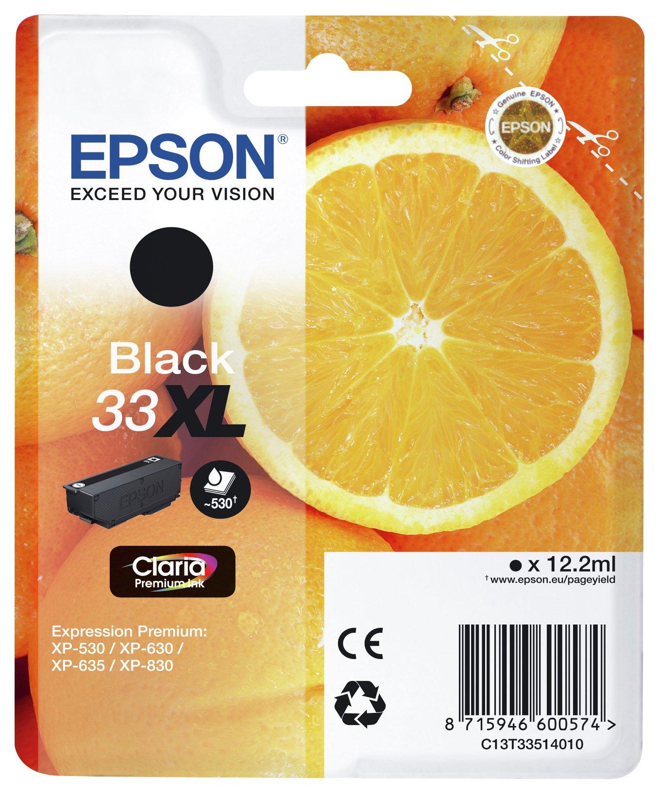 Epson Epson Claria Oranges XL Ink Cartridge - Black.