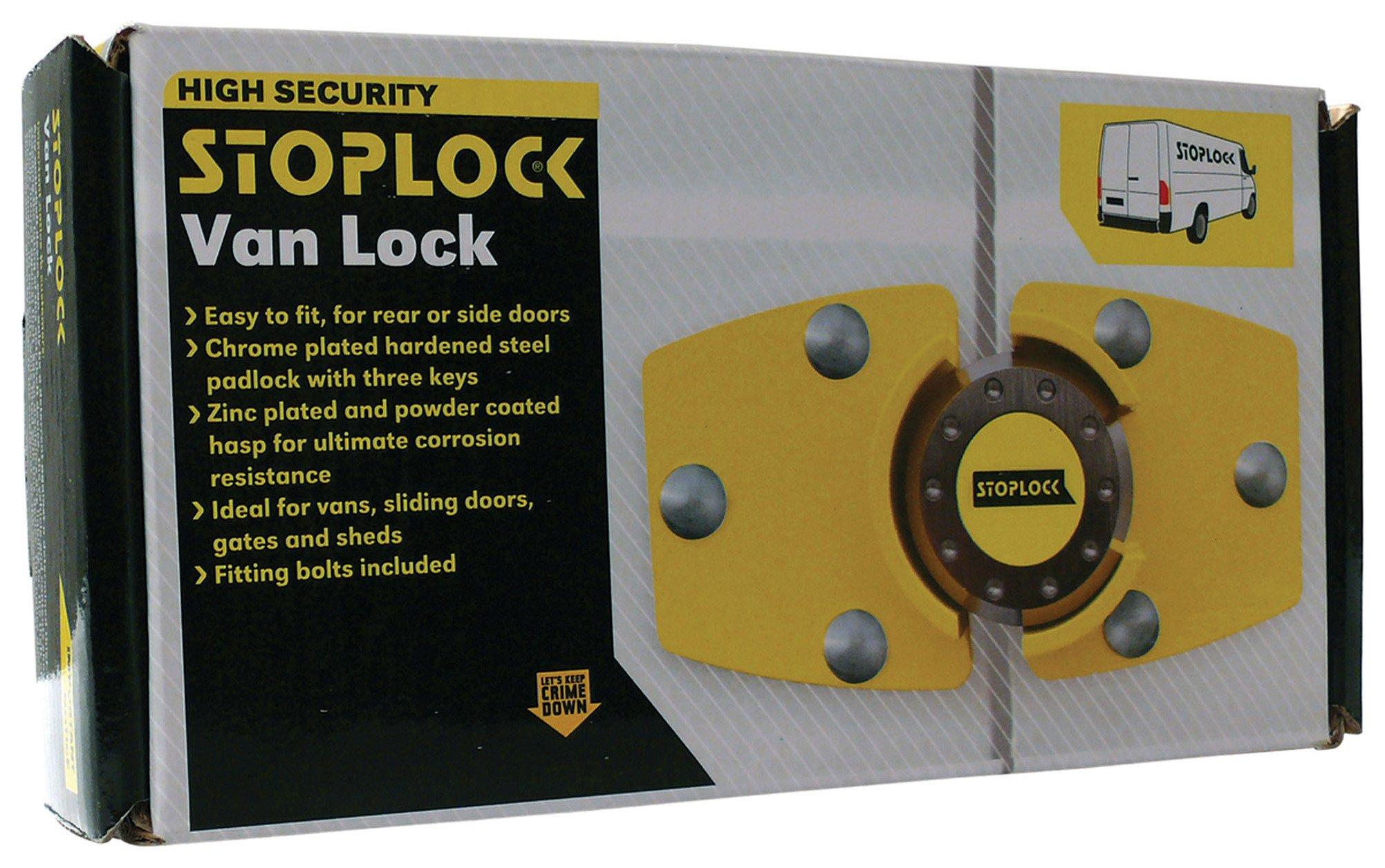 Stoplock - Van Lock lowest price