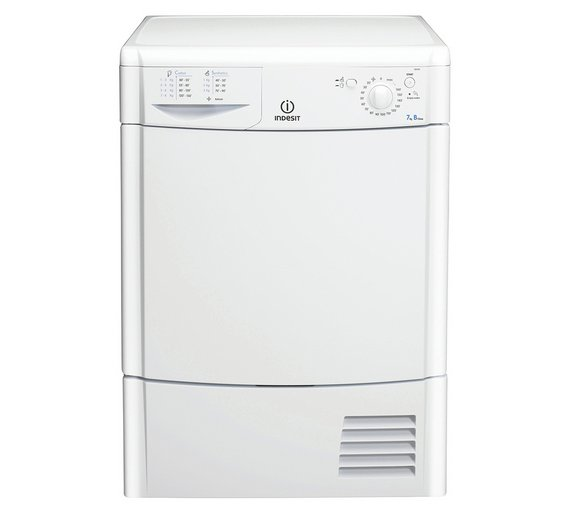 Loading Tumble Dryer ~ Buy indesit idc kg condenser tumble dryer white at