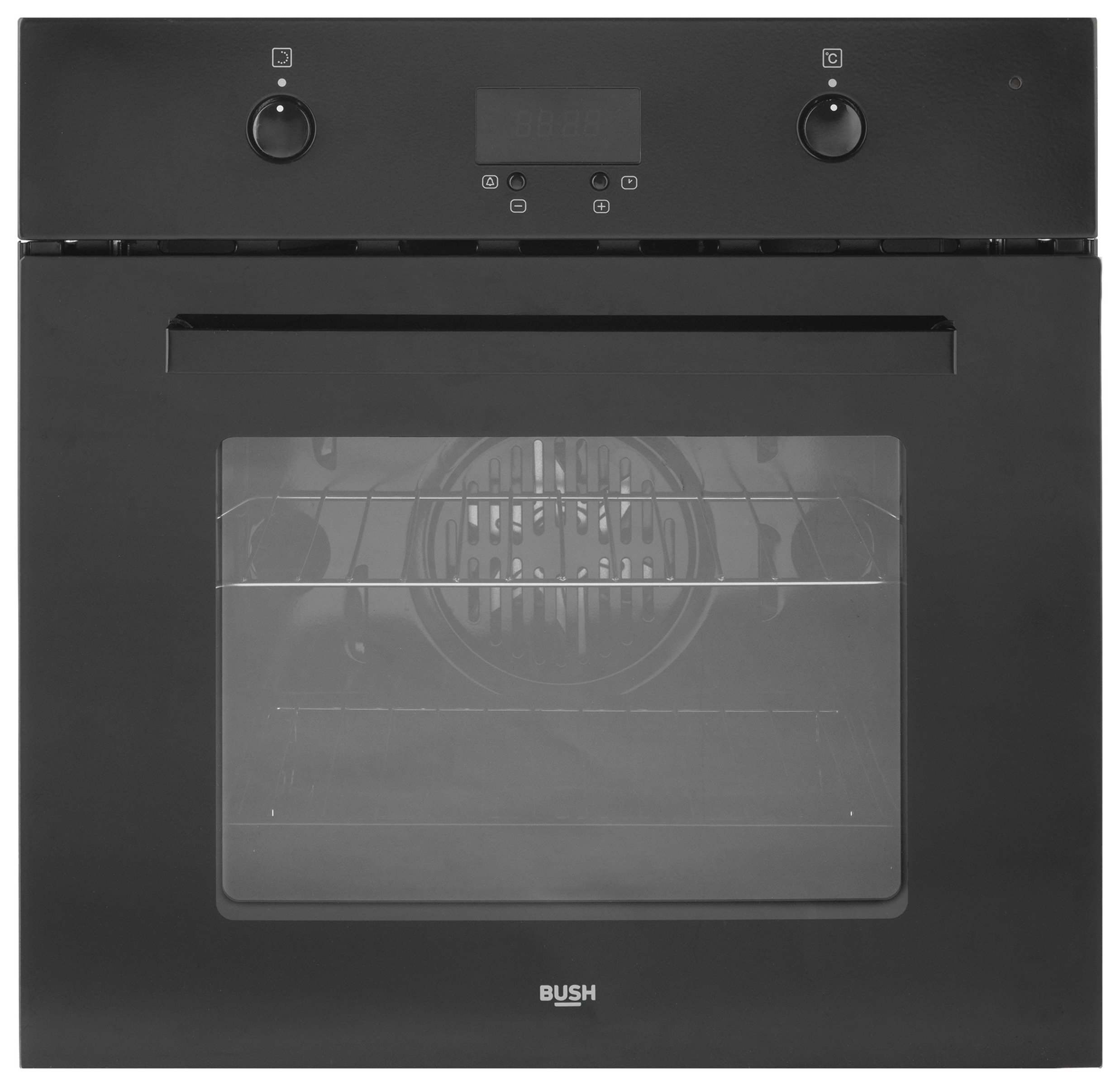 bush-bsobfb-single-multifunction-electric-fan-oven-black